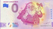 BILLET 0  EURO MERRY CHRISTMAS ALLEMAGNE   2020 N° DIVERS