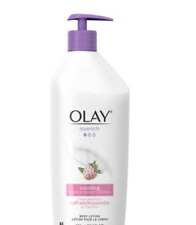 Olay Quench Cooling White Strawberry & Mint Body Lotion 11.8 oz 24 Hour Moisture