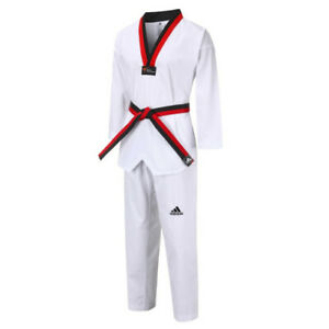 ADIDAS Taekwondo Poom Uniform Set Dobok Martial Arts For Kids 아동 태권도 품 도복