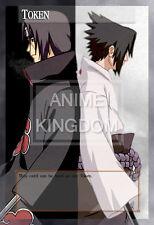 YUGIOH Cool Anime Orica Token Naruto Sasuke & Itachi Uchiha  # 567