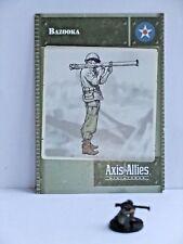 Bazooka, Axis & Allies-Base Set, 16/48, Tarjeta C/W