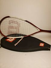 Wilson Hammer 145 Squash Racquet super light 5.7oz with the cover H145