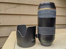 PENTAX Pentax DA 60-250mm f/4 lens sdm issue