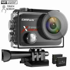 Campark X30 4K 60fps Action Camera 20MP Touch Screen WiFi 40M Waterproof Camera