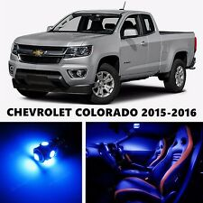 15pcs LED Blue Light Interior Package Kit for  Chevrolet COLORADO