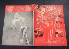 "Olsen & Johnson's ""HELLZAPOPPIN"" Billy House / Eddie Garr 1939 Souvenir Program"