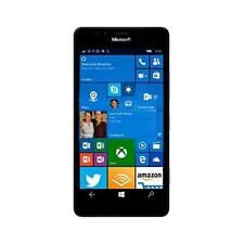 "Microsoft Lumia 950 5.2"" IPS LCD Touch (32GB ROM, 3GB RAM, 1.8GHz Hexa, 20MP/5MP, 3000mAh, 4G LTE, Android) Smartphone (Unlocked) - Black (A00026066)"