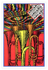 "Cuban movie Poster for film""ARCAño y sus Maravillas""Afro Cuba.Jazz Music.Horns"