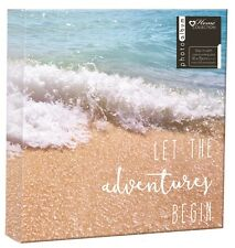 "Beach Photo Album Travel Family Holiday Design Holds 200 4 x 6"" Photographs TRFB"