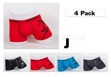 """4pc L 34-36"""" Stretchable Cotton Mens Boxer Briefs Trunk Short Underwear Horse"""