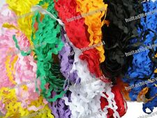 Wholesale lots 40yards DIY scrapbooking dressmaking sewing Ric Rac ribbon trims