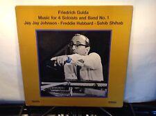 FRIEDRICH GULDA -Music for 4 Soloists & Band ~SABA 15097{nm orig} wHubbard >RARE