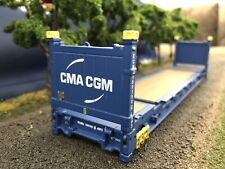1/50 Scale 40' Flat Rack CMACGM