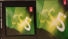 Adobe Web Premium CS5 Mac will activate OS X GENUINE + Acrobat 9 disc Vg fr/shpg