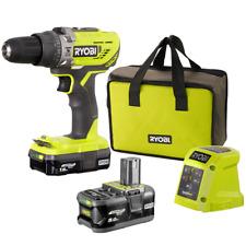 Ryobi Green 18v One 1.5ah/5.0ah Cordless Hammer Drill Kit