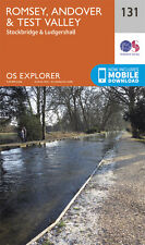 Romsey , Andover and Test Valley Explorer Map 131 - OS - Ordnance Survey