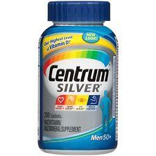 Centrum Silver Men Multivitamin/Multimineral Supplement 200 Count (US IMPORT)