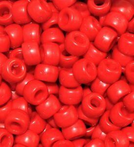 wholesale 1000 pcs AAA acrylic pony beads of 9 x 6 mm, 13 colour option