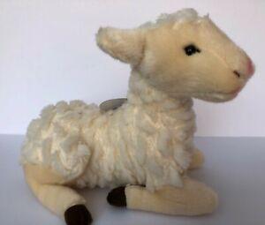 "Bocchetta Plush Sitting Sheep 'Lola'  ""Most Realistic Plush Farm Animal NWT"