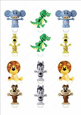 Novelty Raa Raa Lion Edible Cake Cupcake Toppers Decorations Birthday Kids Cute