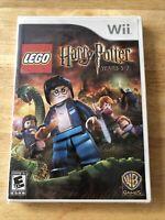 Lego Harry Potter Years 5-7 Nintendo Wii Game