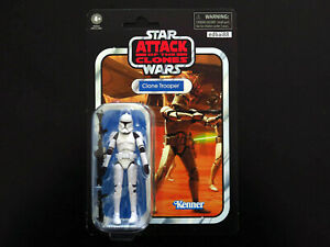 """Star Wars The Vintage Collection Clone Trooper 3.75"""" Figure Attack Of The Clones"""