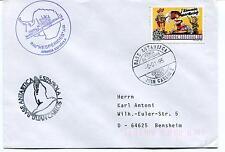 1995 Hesperides A-33 Base Antartica Espanola Juan Carlos I Polar Antarctic Cover