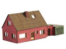 Modellbahn Union N-H00002 - Einfamilienhaus mit Tor & Garage - Spur N - NEU