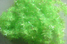 2m Chenille Fritz VERT FLUO 6mm fly tying montage mosca
