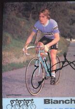 ENNIO VANOTTI cyclisme Signée BIANCHI PIAGGIO 82 autographe cycling ciclismo
