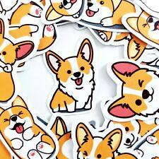 52 Cute Corgi Dog Kawaii Stickers Journal, Diary Stickers, Scrapbooking [Usa]