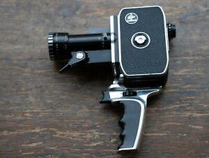 Bolex Paillard P1 8mm Zoom Reflex Film Camera & Accessories