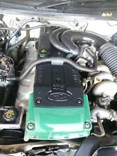 FORD FALCON ENGINE BA, PETROL, 4.0 DOHC, BARRA E-GAS (156kw), GREEN ROCKER COVER