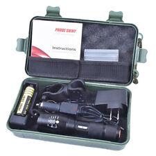 Bright 5000LM X800 CREE T6 LED Flashlight Torch Lamp G700 Light Kit US STOCK