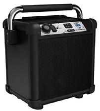 ION Audio Black Job Rocker Plus Portable Heavy-Duty Jobsite BT Speaker System