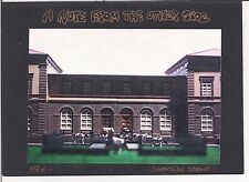 HO scale NOTE FROM THE OTHER SIDE blank card BARDO TOWN VISIONARY DREAMSCAPES