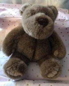 """Gund Collector's Classic Bear Bigbee Brown Plush 11"""" Soft 1989 Stuffed Animal"""
