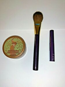 NIB Tarte Smooth Operator Bronze Powder, Brush & Lights Camera Lashes Mascara!