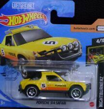 Hot Wheels Porsche 914 Safari amarillo Nightburnerz 4/10 2020 242/250 GHB50-D521