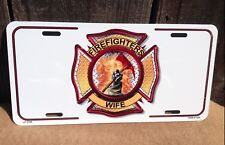 Firefighters Wife Wholesale Metal Novelty License Plate Wall Decor