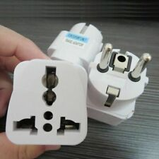 Practical AU US UK to EU Euro Plug Power Travel Charger Adapter Converter Socket