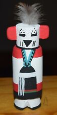 HOPI SNOW MAIDEN CARVING GRACE POOLEY ROUTE 66 KACHINA CARVING HOPI FREE SHIP
