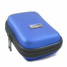 Ex-Pro® Blue Hard Clam MED Camera  Case for canon Powershot  Ixus SX230 HS