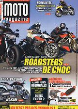 ** Moto Magazine n°265 Wakan One Hundred Roadster / Honda 700 DN 01