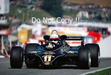 Elio De Angelis Lotus 91 Winner Austrian Grand Prix 1982 Photograph 4