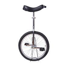HOMCOM  Monocycle 20 pouces Charge maximale 70kg Hauteur Réglable Noir