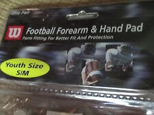 Wilson youth football forearm & hard pad one pair
