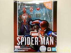Bandai S.H.Figuarts Spiderman Advance Suit American PS4 Version AUTHENTIC
