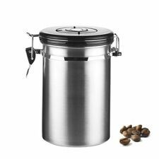Kaffeebohne luftdichtes Aromagenuss Behälter Edelstahl für 500g Kaffeedose #DE