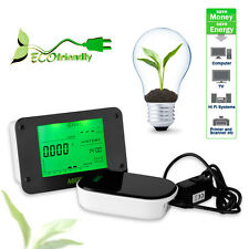 USA STOCK! Home Office Wireless Electricity Monitor Power Meter Energy Monitor